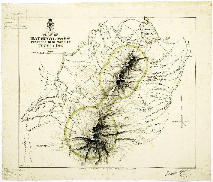 New Zealand Mountains Map.Geoff Aitken Mapping The Mountain The Mapping Of Mount Ruapehu