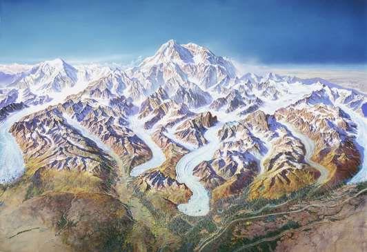 Brooke E. Marston: Denali and the Alaska Range: Mapping North ...